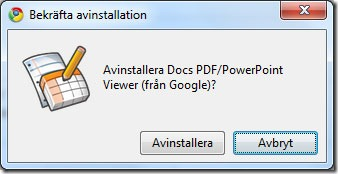 google-chrome-tillagg-bekrafta-avinstallation
